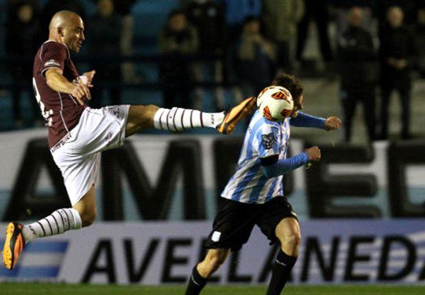 Lanús eliminó a Racing de la Sudamericana.