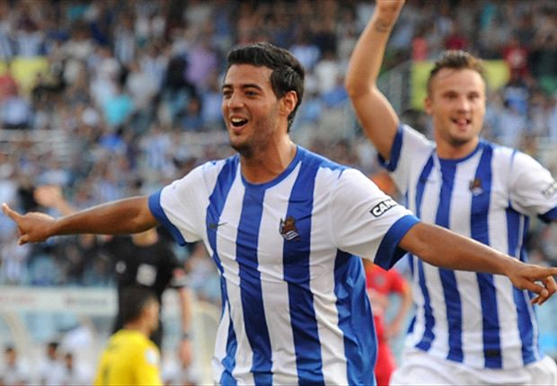 Real Sociedad 2-0 Olympique Lyonnais (4-0 on aggregate): Vela double seals progression
