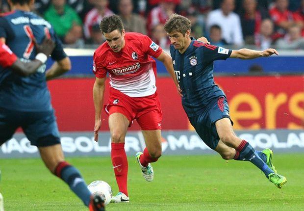 Freiburg 1-1 Bayern Munich: Hofler ends Guardiola's 100% record