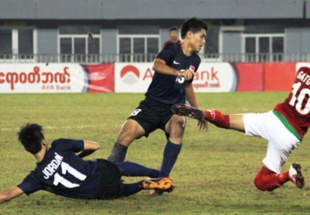 Timnas U-16 harus puas berada di peringkat dua klasemen sementara usai ditahan Singapura