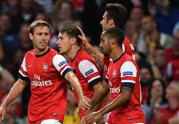 Arsenal 2-0 Fenerbahce (agg 5-0): Ramsey double confirms qualification for Gunners