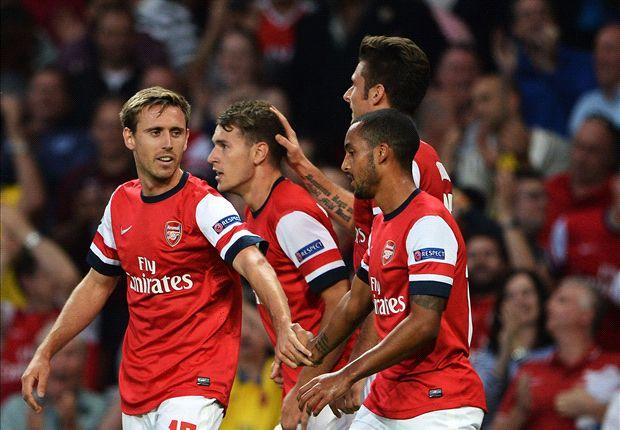 Arsenal le ganó 2-0 a Fenerbahce y redondeó un 5-0 en el global.