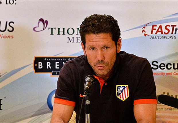 Title challenge 'hard' for Atletico Madrid - Simeone