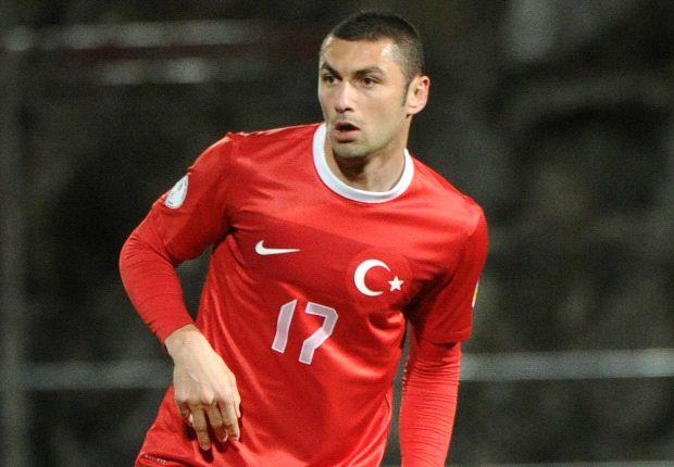 Traf zum wegweisenden 1:0: Burak Yilmaz