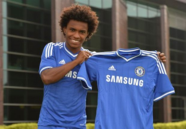 Willian: Chelsea was always my first choice