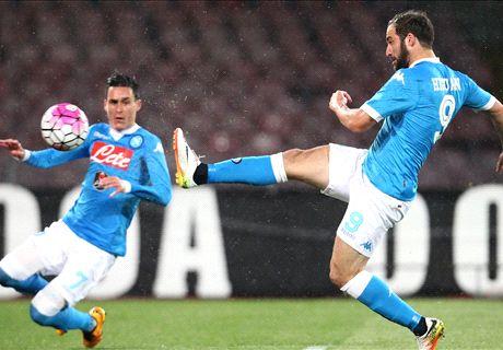 Higuaín helpt Napoli aan drie punten