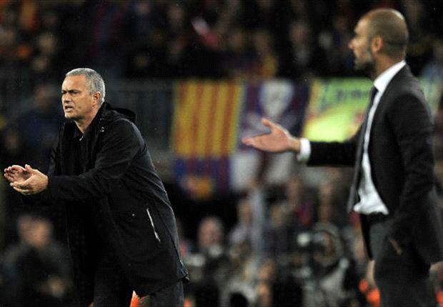 Treffen beim Europäischen Supercup aufeinander: Die Startrainer Jose Mourinho und Pep Guardiola