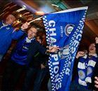 Photos des célébrations des supporters de Leicester City