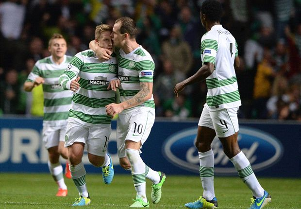 Celtic 3-0 Shakhter Karagandy (Agg 3-2): Forrest leaves it late to secure Champions League progress