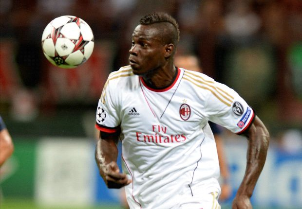 Super Mario turut menyumbang satu gol Milan ke gawang PSV