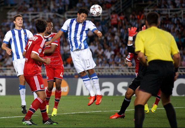 Real Sociedad eliminó a Lyon y jugará la fase de grupos.