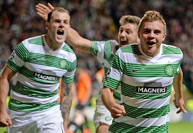 Celtic boss Lennon hails his 'greatest night in football'