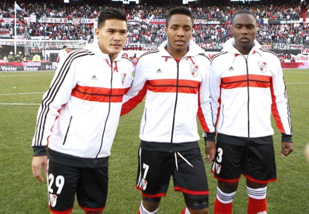 River llegó a Bogotá para su amistoso ante Millonarios
