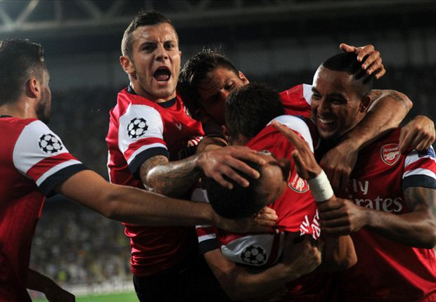 Wilshere targeting Group F top spot with Arsenal