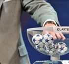When is the draw for the Champions League knockout stages?