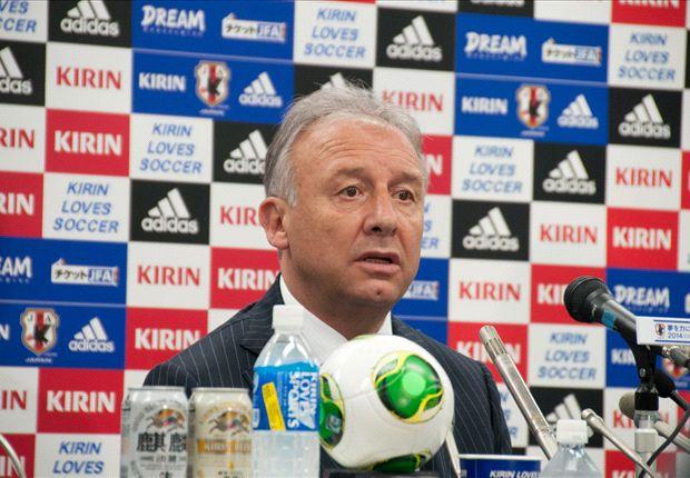 Alberto Zaccheroni of Japan has unveiled his squad