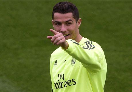 Zidane: Ronaldo will face Man City