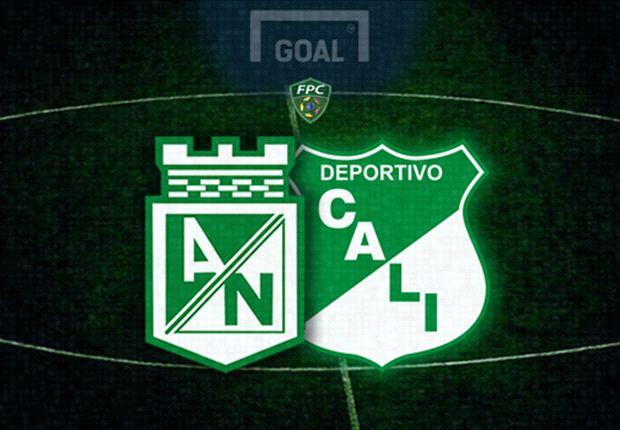 Deportivo Cali tampoco pudo con Atlético Nacional y perdió 2-0
