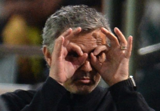 Jose Mourinho sorgte bei der Pressekonferenz für einen Eklat