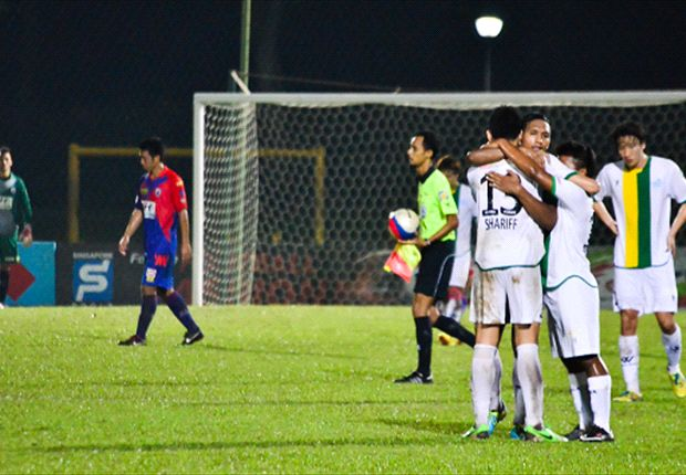 Woodlands held Tampines to a 3-3 draw after coming from behind thrice in a thriller
