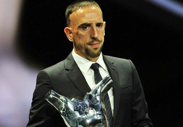 Ribery best in Europe, says Messi