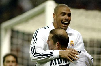 Ronaldo names Zidane as the best he's ever played with