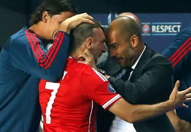 Ribery: Guardiola wants even more Bayern success