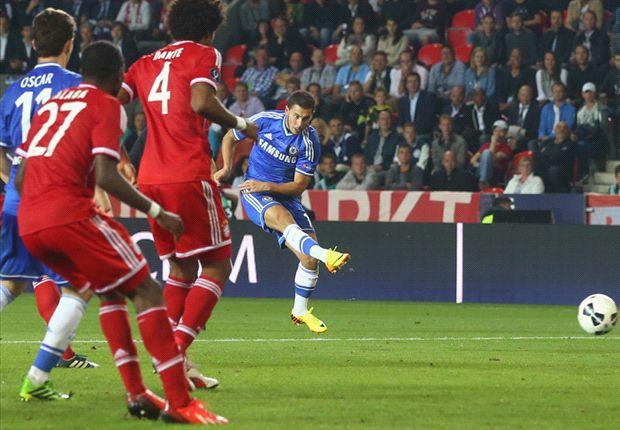 Eden Hazard zit waarschijnlijk op de tribune tegen Schotland