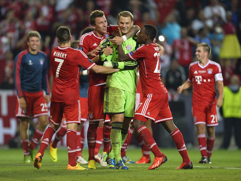 Las mejores imágenes de Bayern Munich - Chelsea