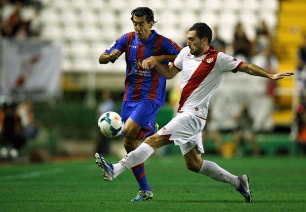 Pedro Ríos, luchando con Arbilla en un Rayo-Levante