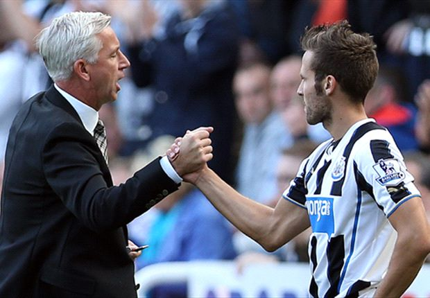 Pardew praises Cabaye attitude after Arsenal bid