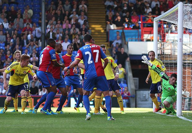 Crystal Palace 3-1 Sunderland: O'Keefe stunner wraps up impressive Eagles win
