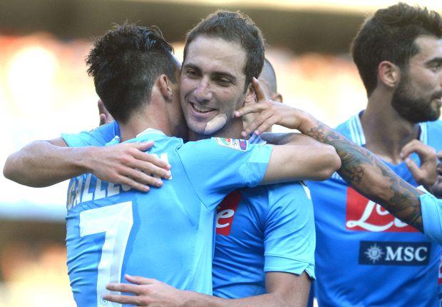 Napoli masih lebih baik dibanding Chievo.