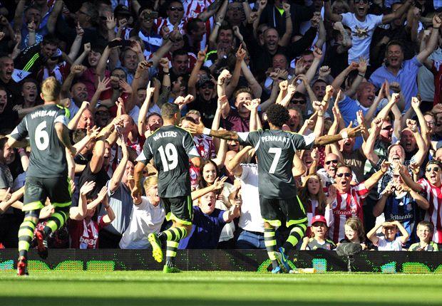 Stoke boss Hughes heaps praise on Pennant