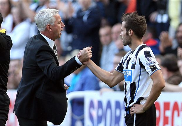 Newcastle boss Pardew unsure over Cabaye future
