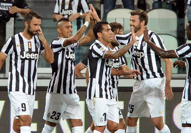 Nach dem Supercup siegte Juventus auch in der Liga gegen Lazio Rom