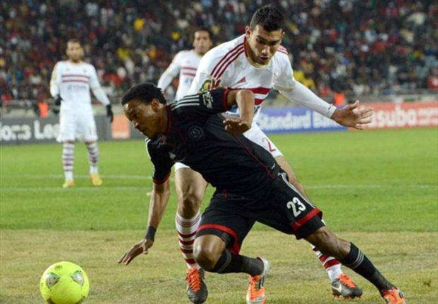 Zamalek Vs Orlando Pirates starting line-ups