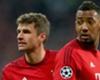 Müller und Boateng im Unglück vereint