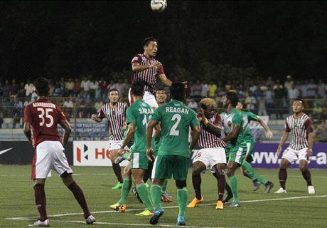 Mohun Bagan advance to semis in style