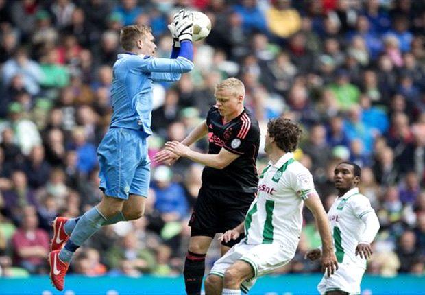 Ajax hanya mampu berbagi poin dengan Groningen.