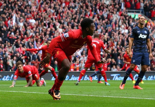 Liverpool 1-0 Manchester United: Sturridge inflicts first defeat on Moyes