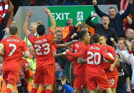 Liverpool sink the Yellow Submarine