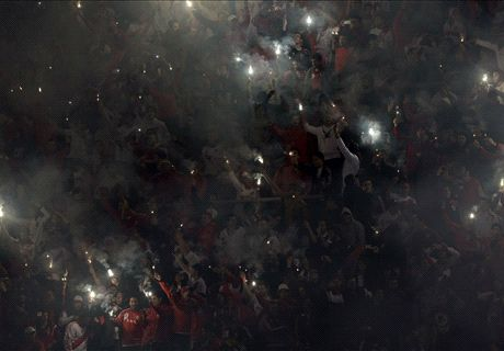 VIDEO: River fans light up Monumental
