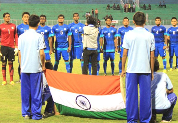 Indian flag flying high in the football world