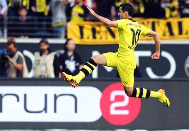 Bundesliga Team of the Week: Mkhitaryan scores first Dortmund goals