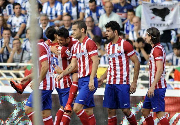 El Atlético de Madrid sigue pleno de victorias
