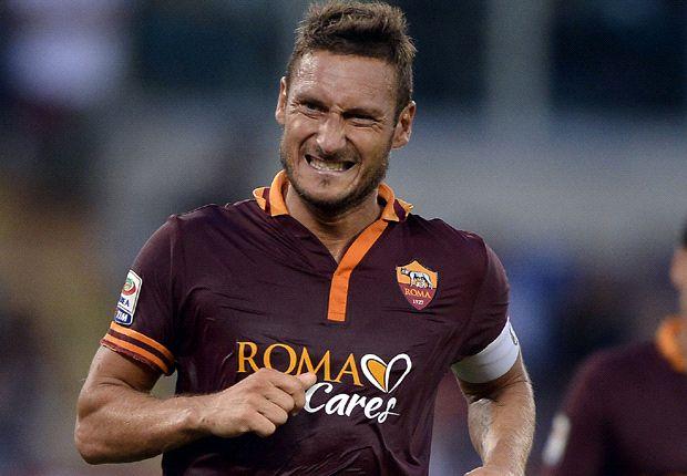 Totti récord: 537 partidos y 227 goles en Roma