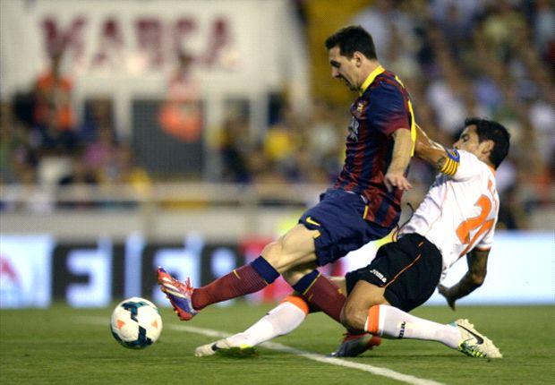 Valencia 2-3 Barcelona: Messi hat-trick settles thriller