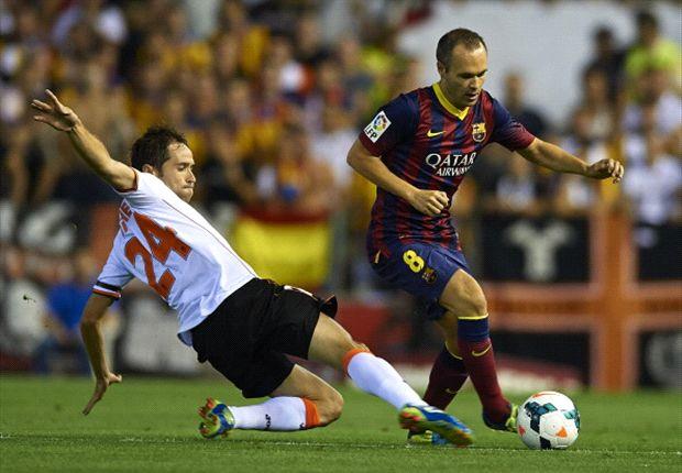 """""""Iniesta op rand nieuw Barça-contract"""""""