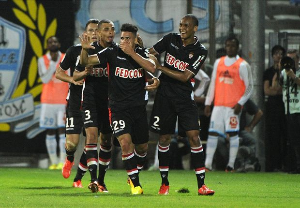 Falcao injury mars Monaco win at Marseille